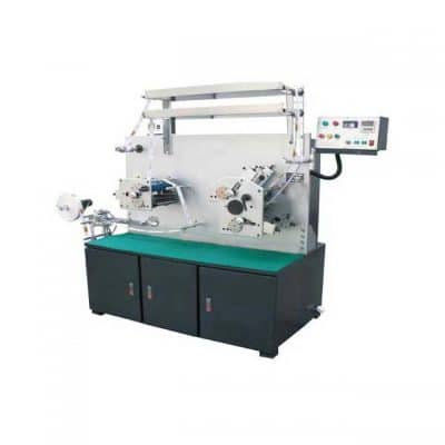 HLSB-PT2/1 Two color Fabric Label Flexo Printing machine