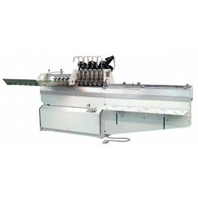 HL-DQB604/604L four / six head saddle stitching machine for book