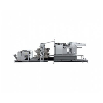 HL-1020A Web Paper Flexo Printing Ruling and Slitting Machine