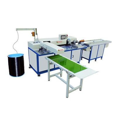 HL-520PBF Automatic double loop notebook wire punching forming and binding machine
