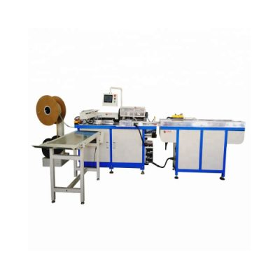 HL-520PB Automatic double loop wire notebook punching and binding machine