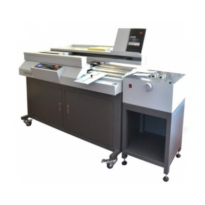 HL-60R+ Hot melt Glue binding machine with side glue and creasing
