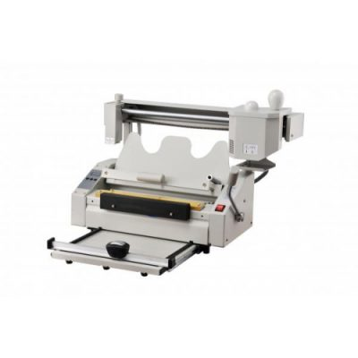 HL-T30Y Manual glue binding machine with creasing and perforating