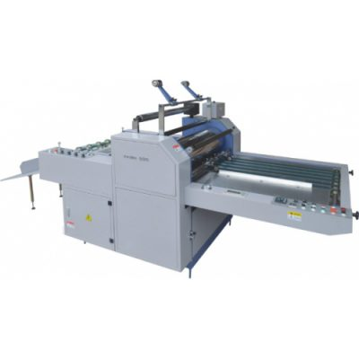 HLMB-720A/920A/1100A/1400A semi-automatic film lamination machine for paper with automatic cutting