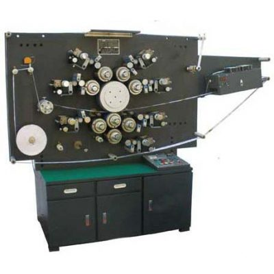 HLSB-7B High Speed Rotary Six color Label Printing Machine